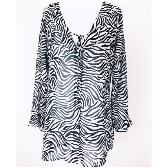 Other - Victoria's Secret sheer zebra print nightie